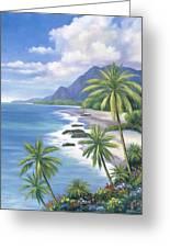 Tropical Paradise 2 Greeting Card