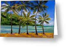 Tropical Paradize Greeting Card