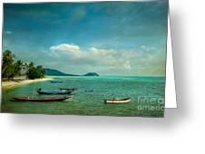 Tropical Seas Greeting Card