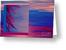 Tropical Sunrise By Jrr Greeting Card