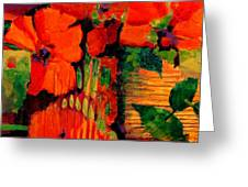 Tropical Tapestry Greeting Card