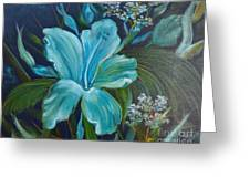 Tropical Turquoise Greeting Card