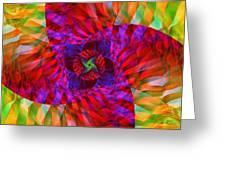 Tropical Twist Greeting Card