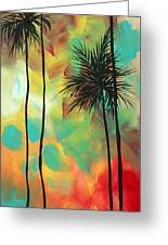 Tropics By Madart Greeting Card
