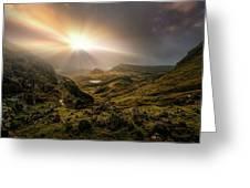 Trotternish Ridge Light #3 Greeting Card