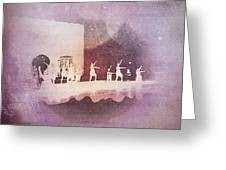 Troupe Greeting Card