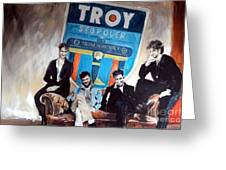 Troy Stopover Greeting Card
