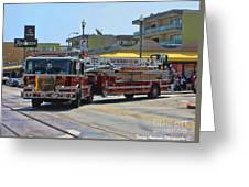 Truck 2 Sffd Greeting Card
