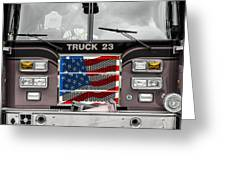 Truck 23 Greeting Card