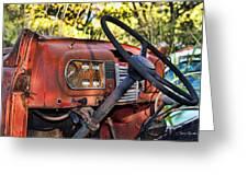 Truck Dash Greeting Card