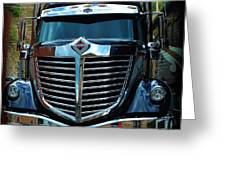 Truck Face Greeting Card