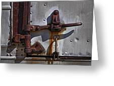 Truck Handle Greeting Card