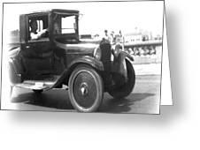 Truck Vintage Greeting Card