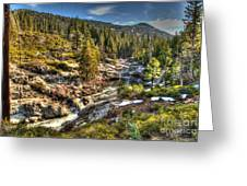 Truckee River  Greeting Card