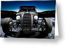 Millers Chop Shop 1964 Truckster Frontend Greeting Card