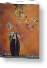 Trudi's Vase Greeting Card