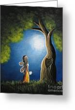 True Love Lasts Forever By Shawna Erback Greeting Card by Shawna Erback