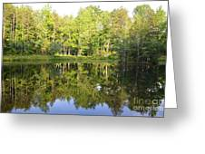 True Reflection Greeting Card