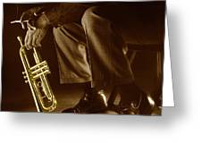 Trumpet 2 Greeting Card