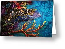 Trunkfish - Male Greeting Card