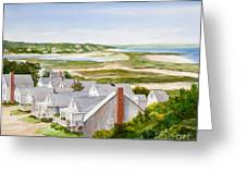 Truro Summer Cottages Greeting Card
