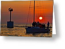Trust The Gortons Fisherman Greeting Card