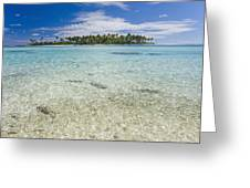 Tuamatu Islands Greeting Card