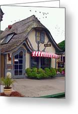Tuck Box Tearoom - Carmel California Greeting Card