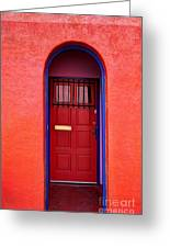 Tucson Doorway Greeting Card