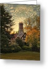 Tudor In Autumn Greeting Card