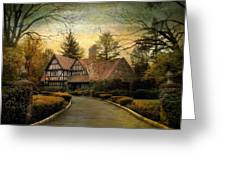 Tudor Road Greeting Card