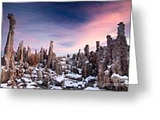 Tufa Mono Lake  Greeting Card