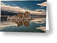 Tufa Reflections Greeting Card