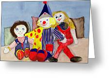 Tuffys Toys, 1993 Greeting Card
