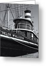 Tugboat Helen Mcallister II Greeting Card