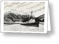 Skagit Chief Tugboat Greeting Card