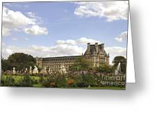 Tuileries Garden Greeting Card