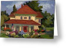 Tukwilla Farm House Greeting Card