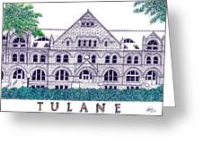 Tulane Greeting Card by Frederic Kohli