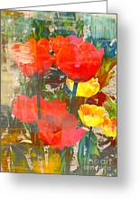 Tulip Abstracts Greeting Card