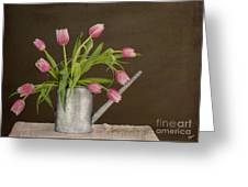Tulip Bouquet  Greeting Card by Alana Ranney