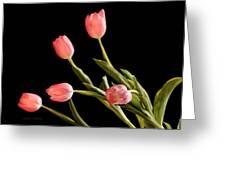 Tulip Happy Greeting Card