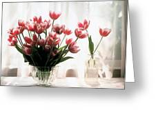 Tulip Greeting Card by Jeanette Korab