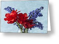 Tulip Macro 2 Greeting Card