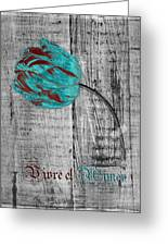 Tulip - Vivre Et Aimer S12ab4t Greeting Card