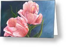 Tulip Waltz Greeting Card