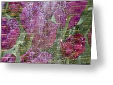 Tulip Waterfalls Greeting Card