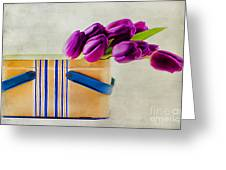 Tulips For Mom Greeting Card