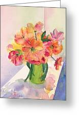 Tulips For Mother's Day Greeting Card