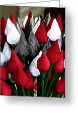 Tulips For Sale Greeting Card